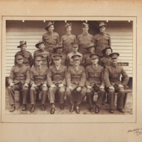 11th Battalion C.M.F. Headquarters Staff - 1940